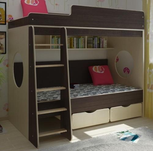 Детская мебель на основе натуральных материалов