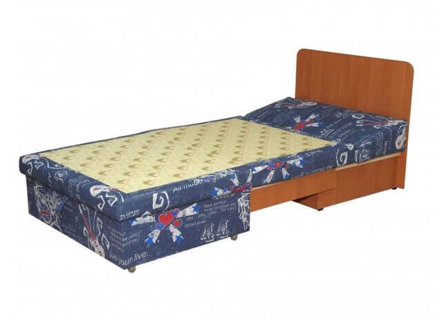Детская односпальная кровать в виде кресла