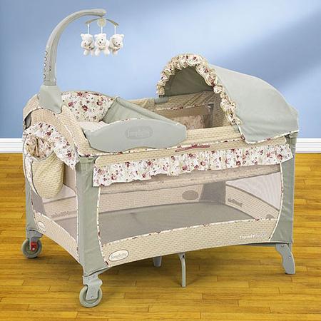 Детская туристическая кровать