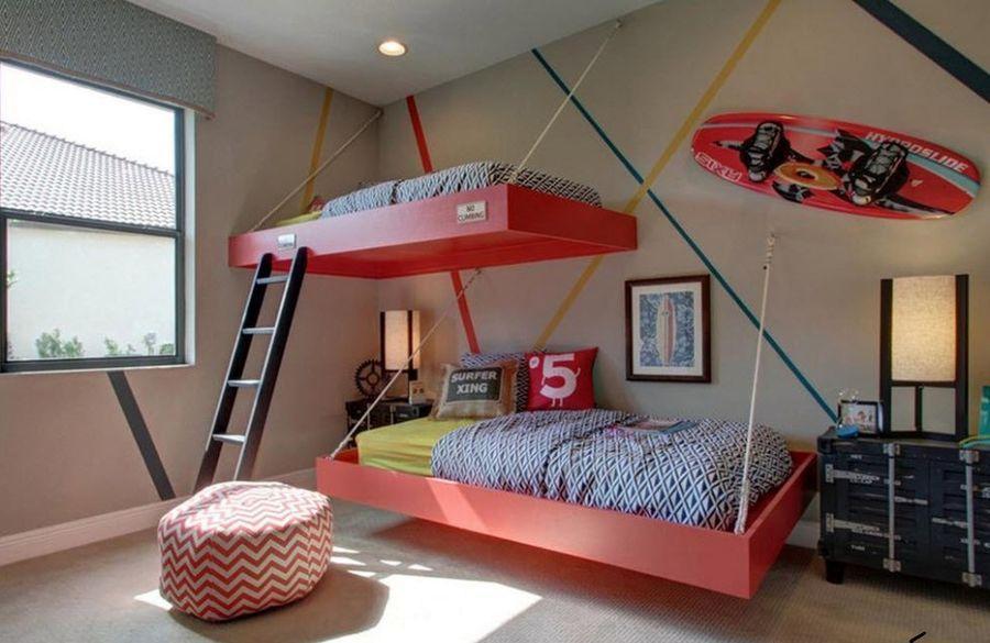 Детские подвесные кровати