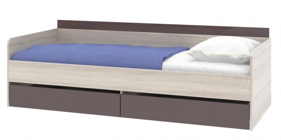 Диван кровать в сером цвете