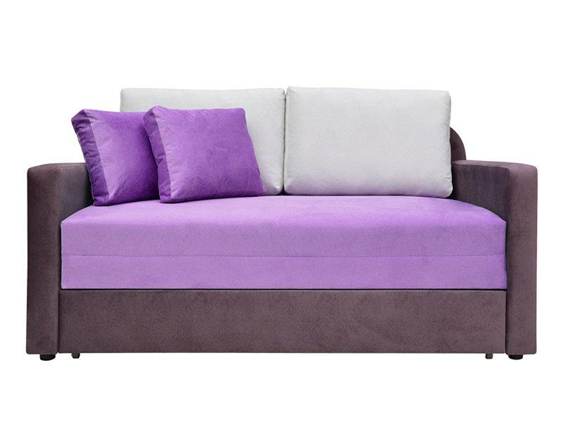 Диван в фиолетовом дизайне