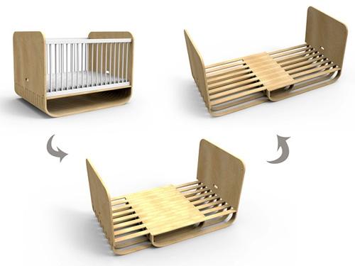 Дизайн растущей кровати
