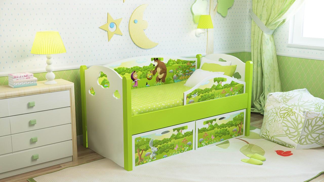 Дизайн с функциональной мебелью