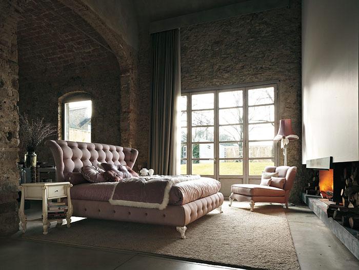 Дизайнерские итальянские кровати - украшение вашей спальни