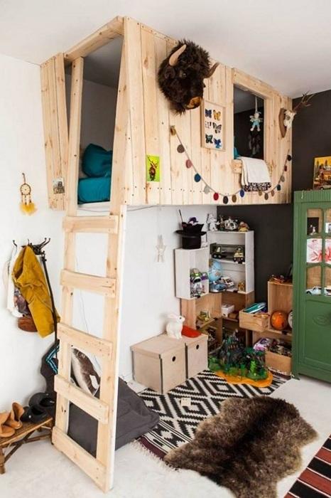 Домик-пещера для сна и игр ребенка