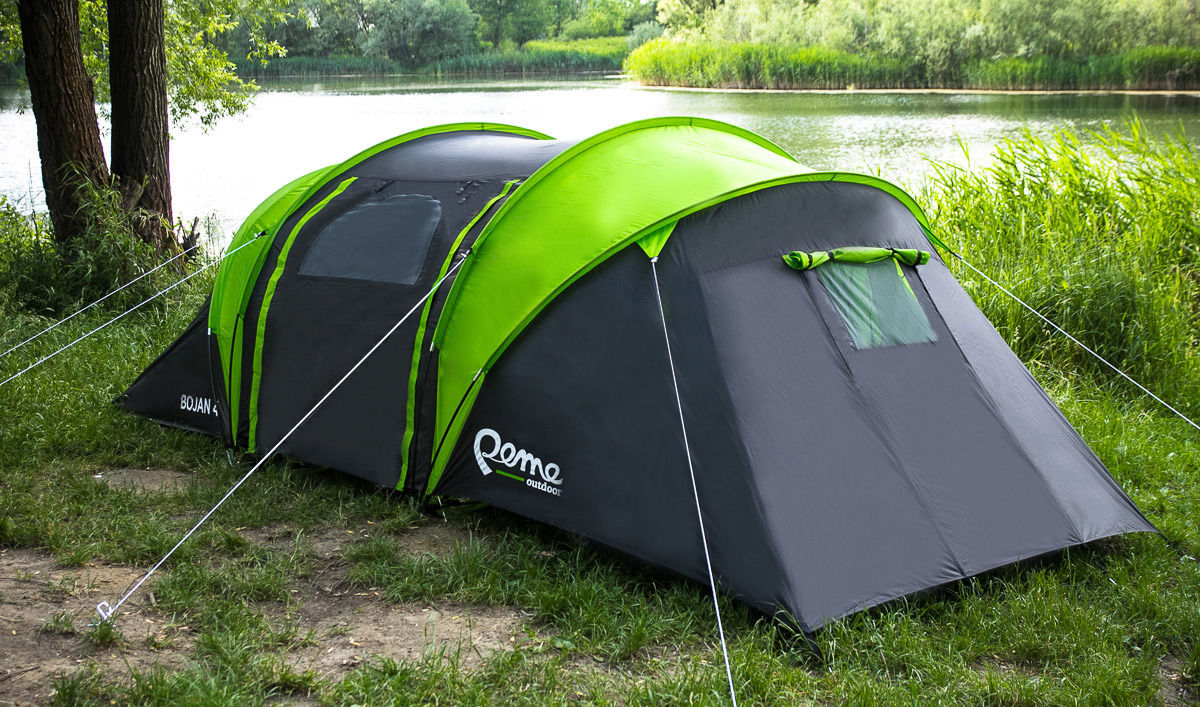 Двухслойная складная палатка для туризма