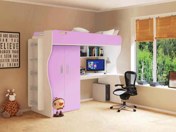 Двухъярусная мебель для ребенка