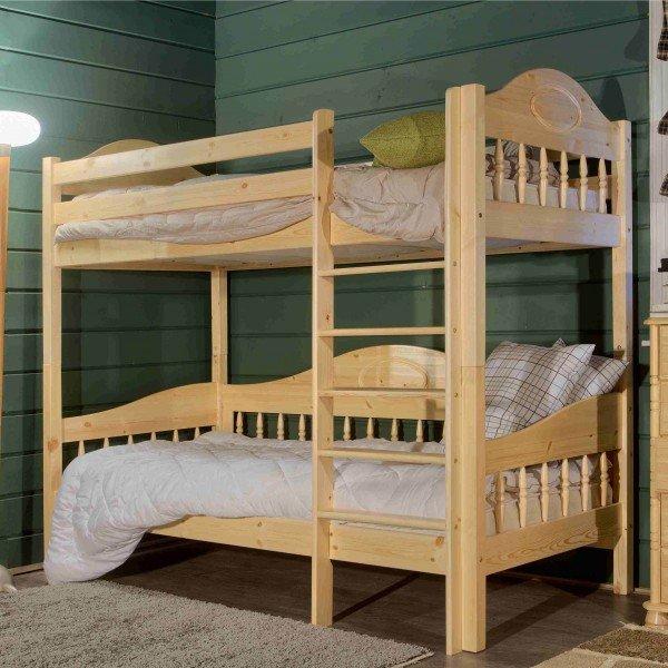 Двухъярусные конструкции кровати