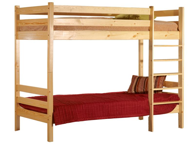 Двухъярусные кровати из массива