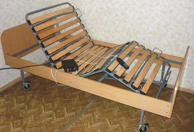 Электрический привод кровати для больных