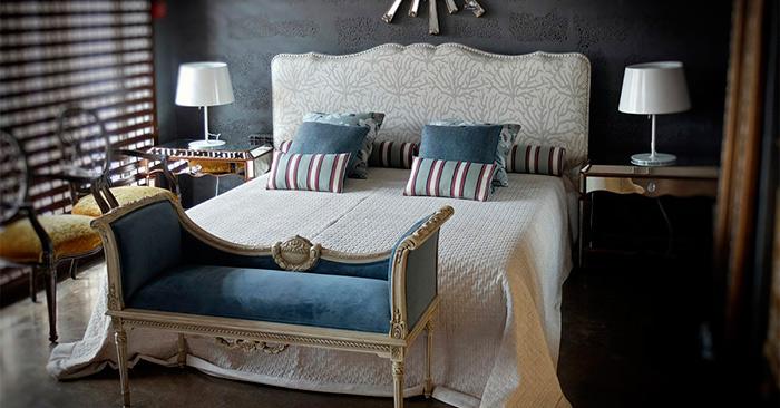 Элитная кровать в интерьере
