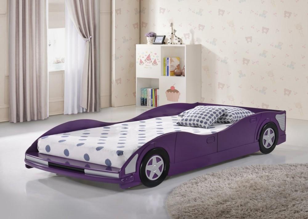 Фиолетовая машина