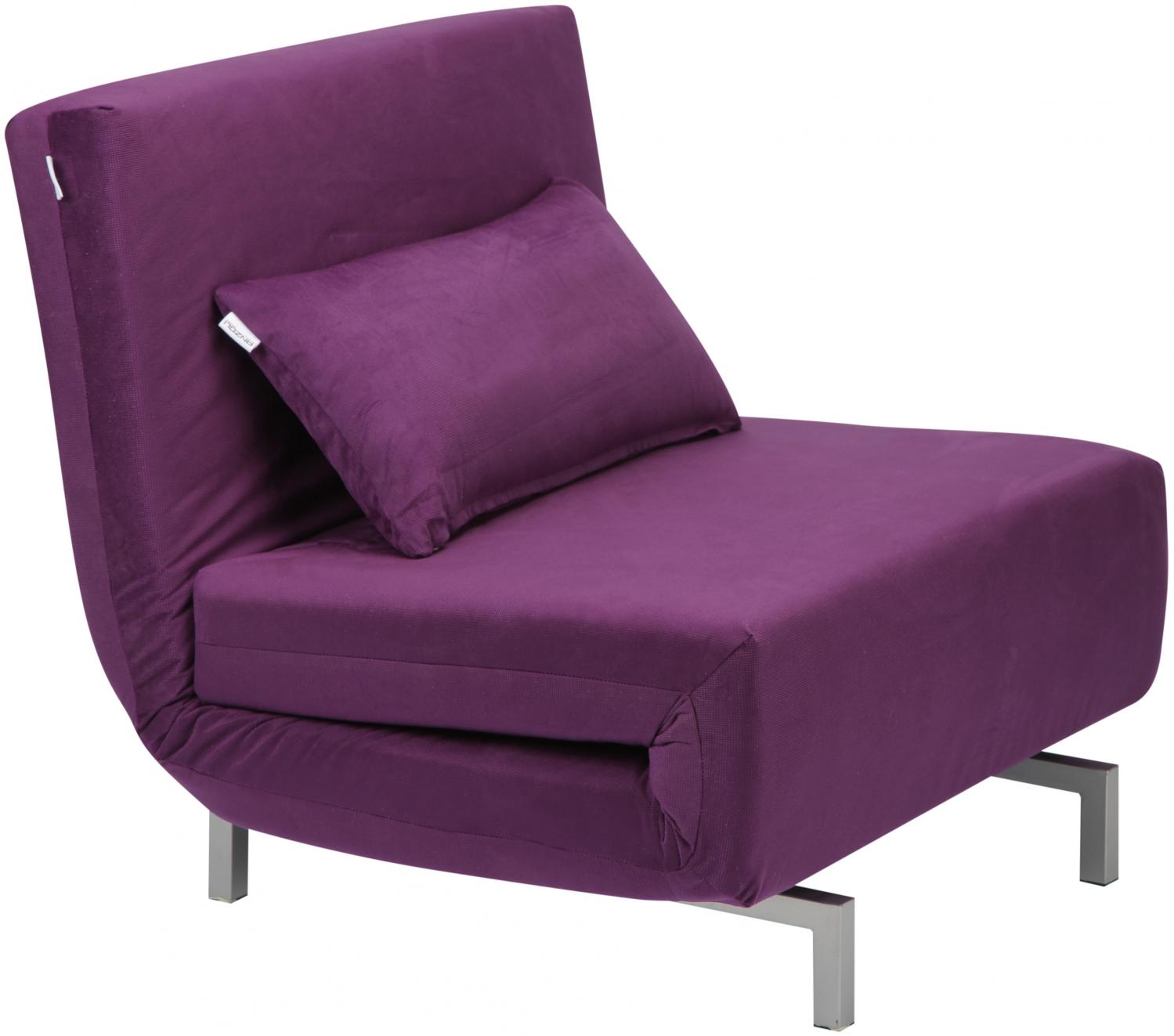 Фиолетовые оттенки современной мягкой мебели