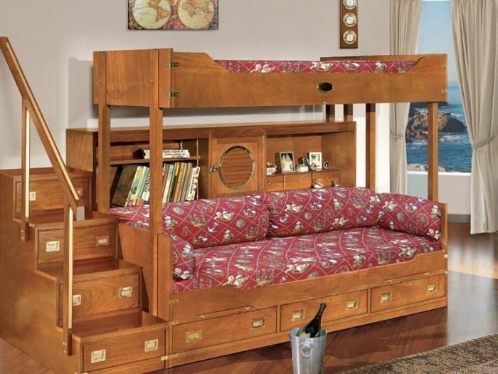 Функциональная двухярусная кровать