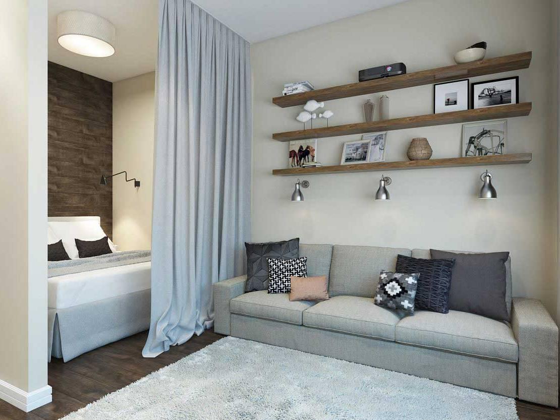 Где поставить кровать в комнате