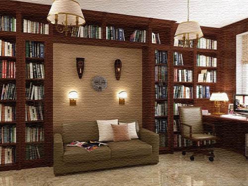 Где разместить книги в доме
