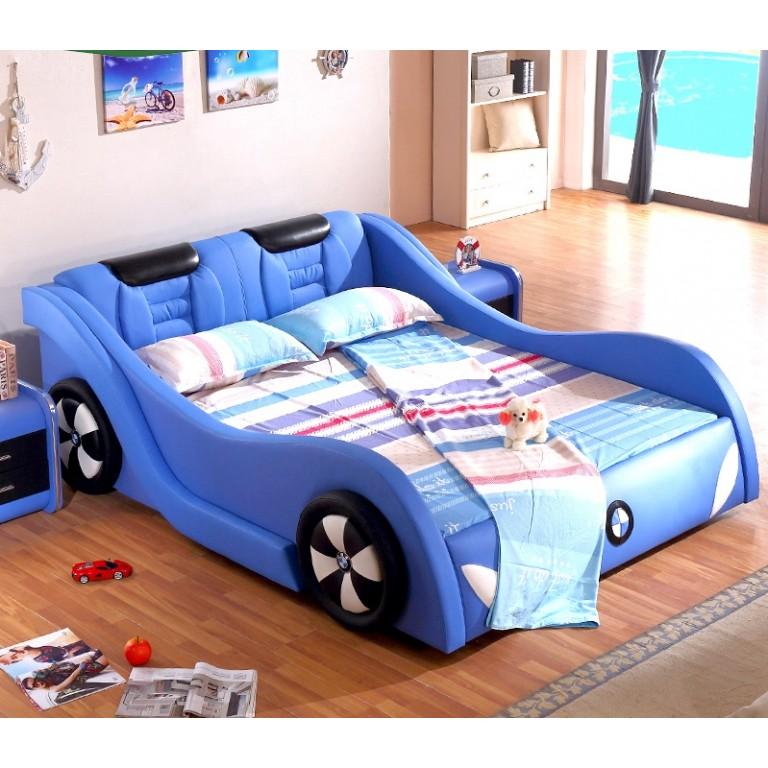 Голубые кровати для мальчика