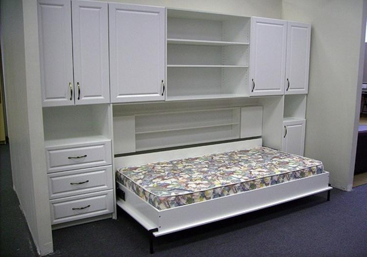Горизонтальный шкаф-кровать