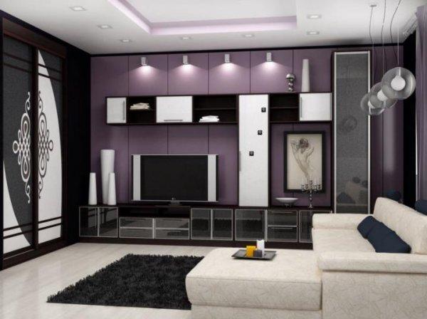 Гостиная комната служит уютным гнёздышком для приёма долгожданных гостей
