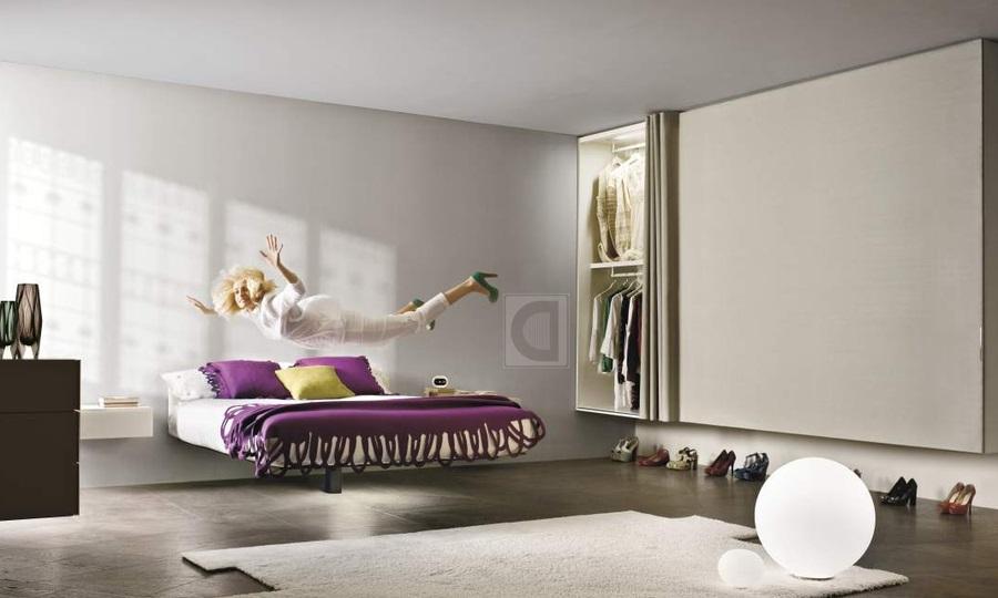 Имитация подвесной кровати