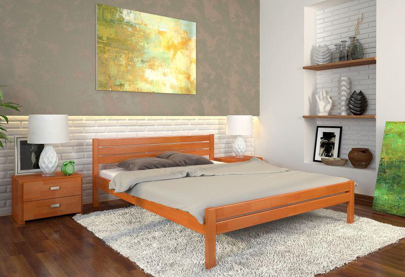 Интерьер спальни с практичной мебелью
