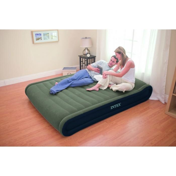 Как надуть кровать для сна