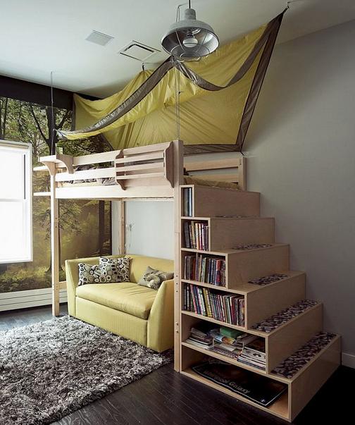 Как найти место для размещение спального ложе