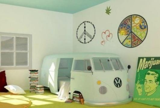 Как оформить комнату ребенка оригинально
