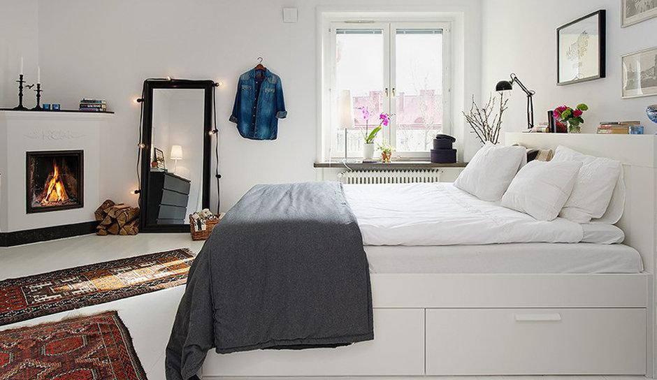 Как оформить спальню в скандинавском стиле