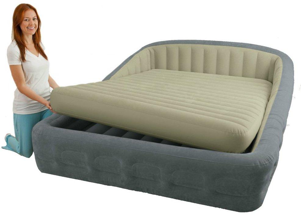 Как правильно использовать надувную кровать