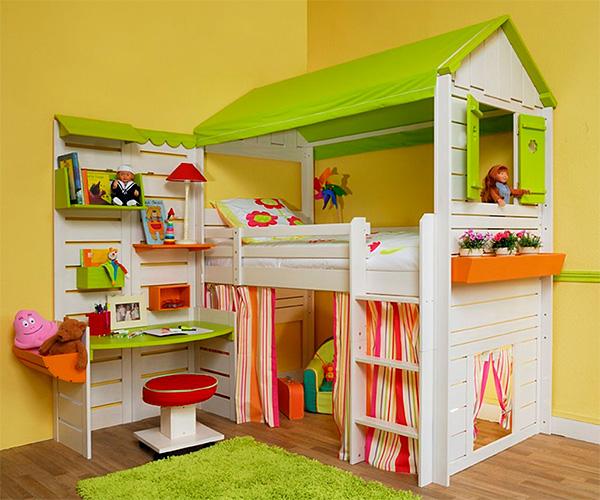 Как правильно обустроить спальню ребенка