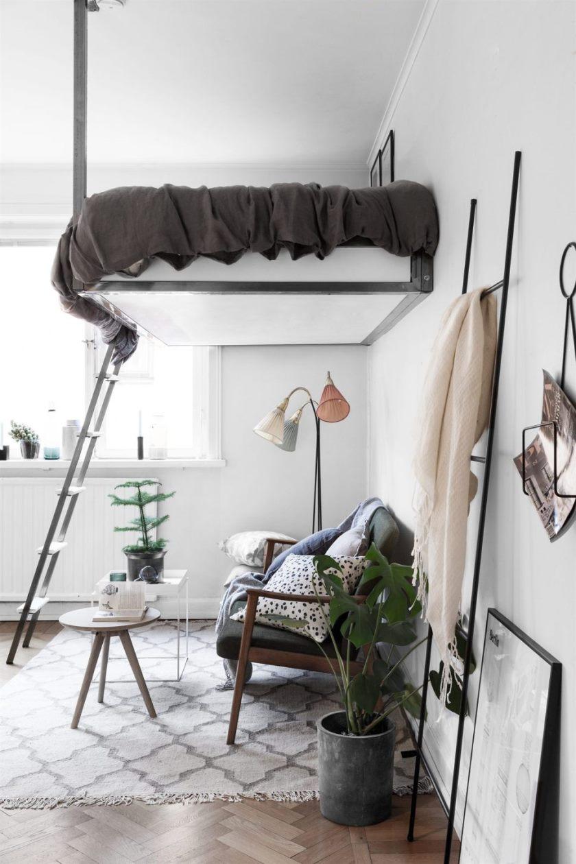 Как сделать маленькую спальню практичной