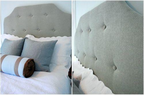 Как сделать мягкое изголовье кровати