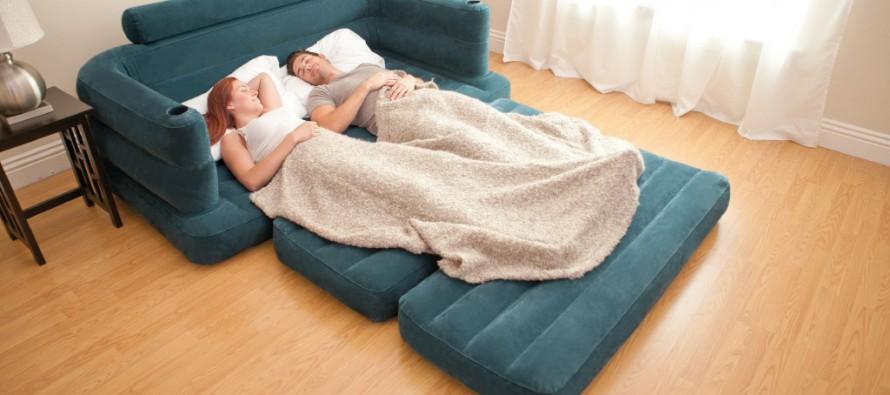 Как сделать спальное место в небольшой квартире