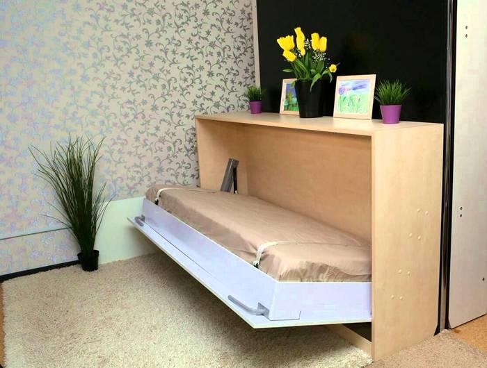Как сэкономить пространство в спальне
