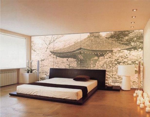 Как создать спальню в японском стиле