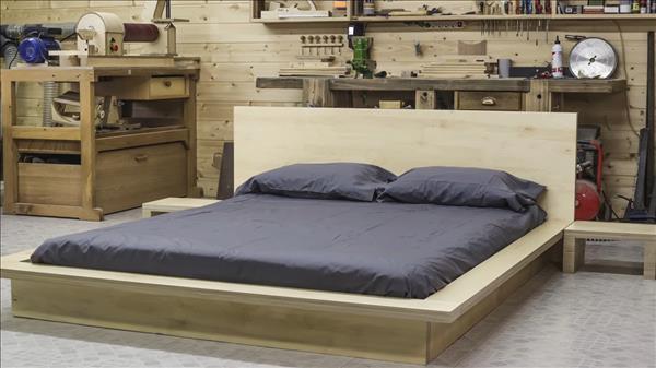 Как своими руками сделать кровать в японском стиле