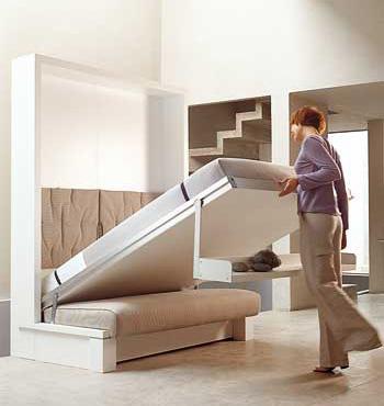 Как выбрать кровать с практичным диваном