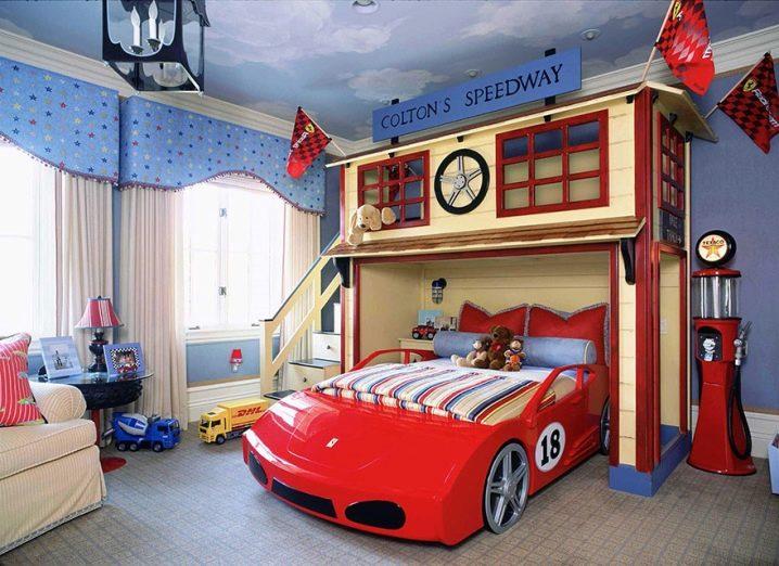 Как выбрать мебель для сна ребенка мальчика