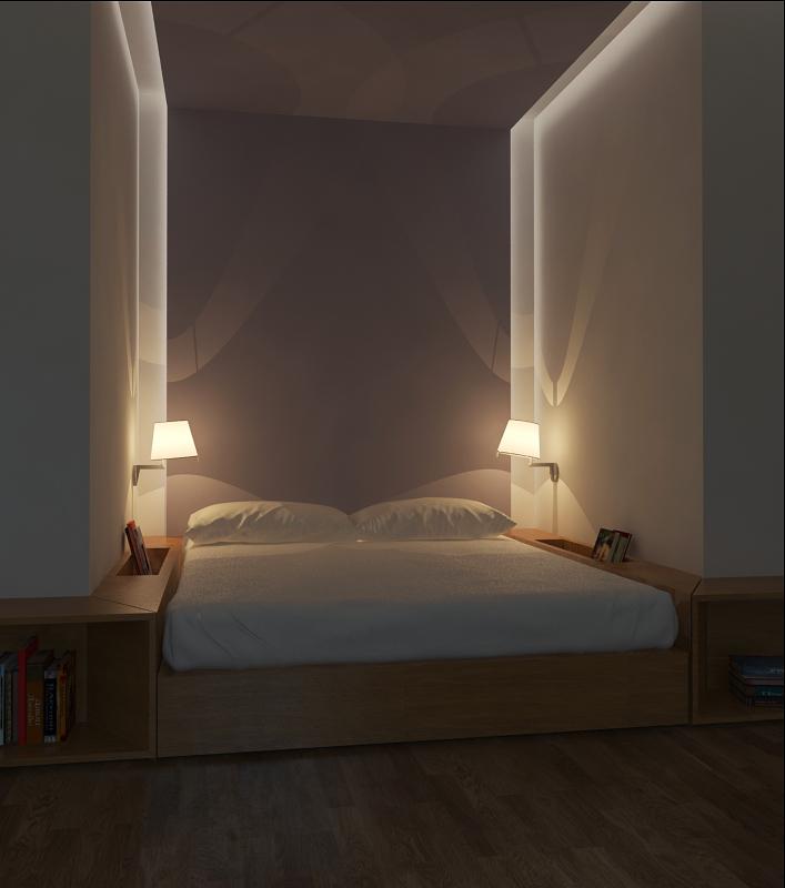 Как выглядит кровать-подиум