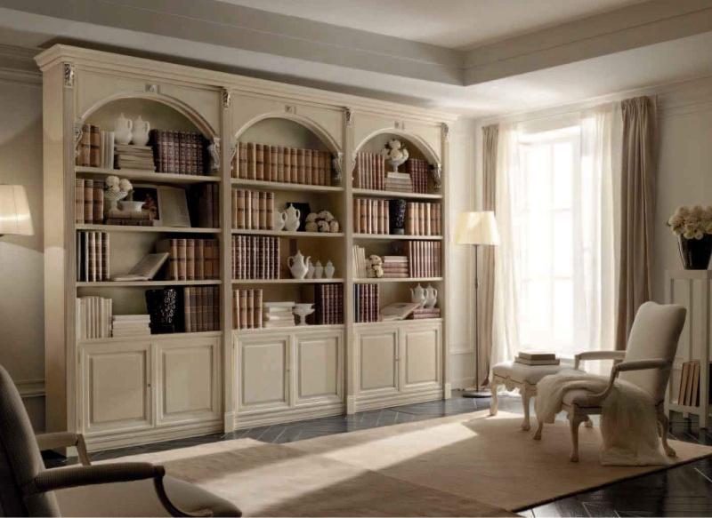 Какой может быть мебель для домашней библиотеки