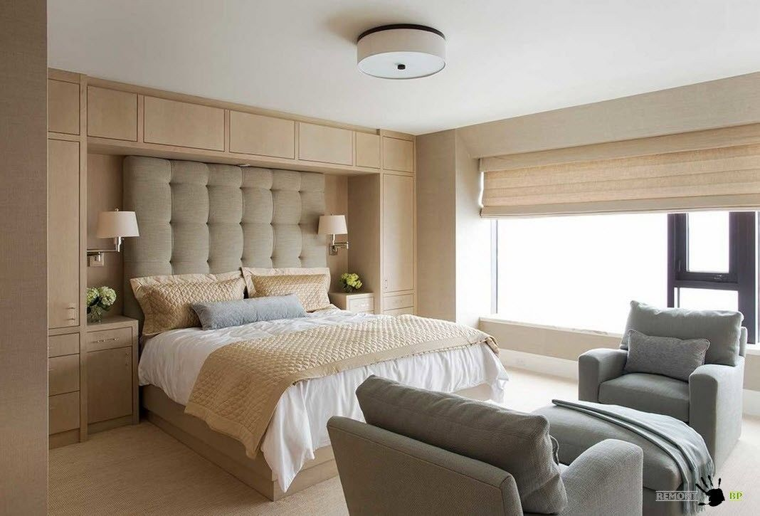 Классический интерьер комнаты для сна