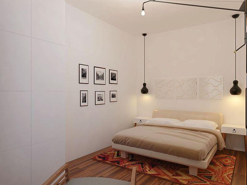 Ключевые особенности дизайна кровати в спальне в скандинавском стиле
