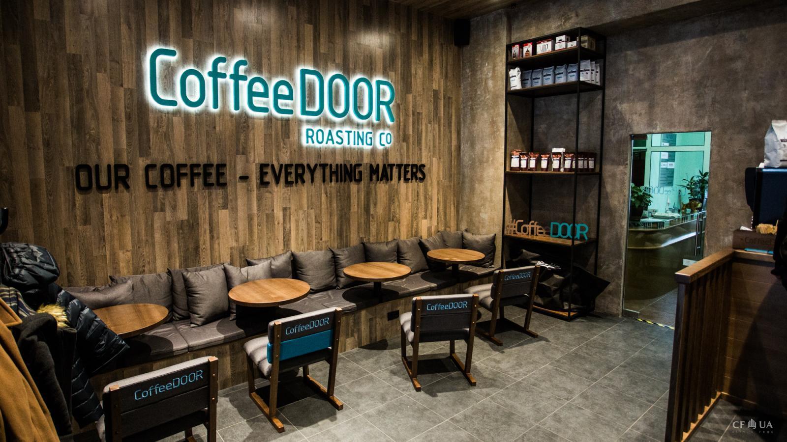 Кофейня находится в здании