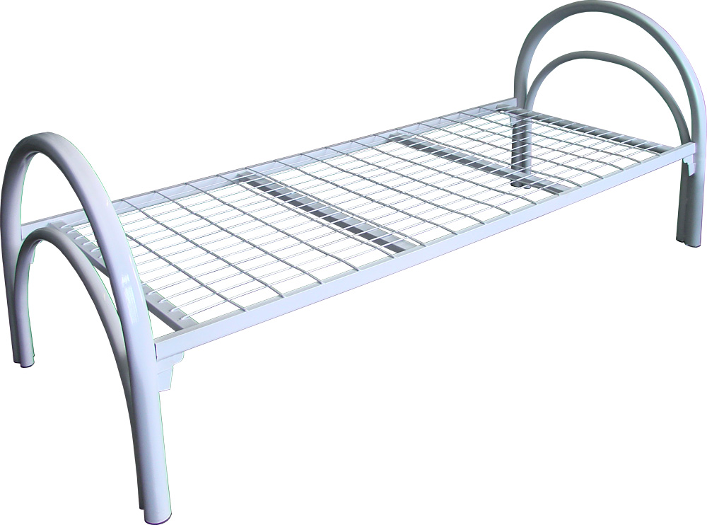 Кованые элементы современной двуспальной кровати