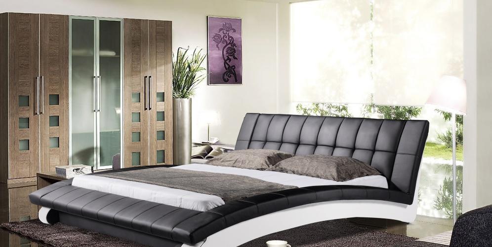 Кожаная кровать – роскошь или практичный предмет интерьера