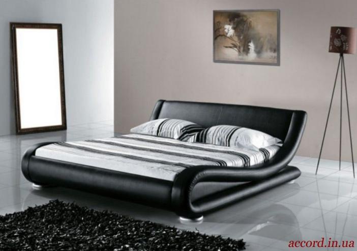 Кожаные кровати в спальню