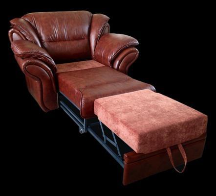 Кожаные предметы мебели