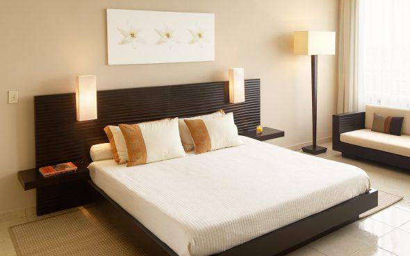 Красивая модель современной мебели для сна